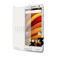 3 LCD Screen Protector Film Guard Cover For Motorola Moto X Force/Droid Turbo 2