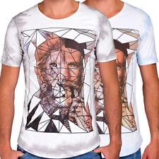 Anime Slim Fit Short Sleeve T-Shirts for Men