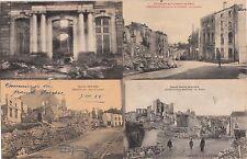 Lot 4 cartes postales anciennes GUERRE 14-18 WW1 GERBEVILLER 7