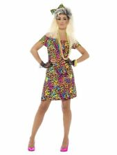 80er Jahre Party Löwin Disco Damen Kostüm M