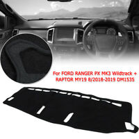 Dash Mat Dashboard Cover for Ford Ranger PX MK3 Wildtrack RAPTOR MY19 2018-2019