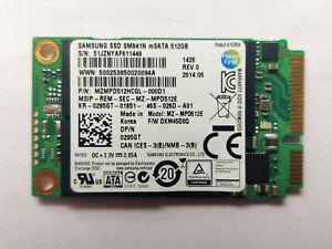 Used SAMSUNG SM841N 512GB mSATA SSD MZ-MPD512E Korea made Solid State Drive Rare