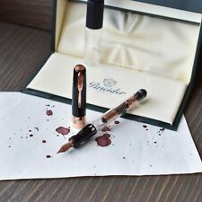 Pineider Mystery Filler Black & Rose Gold Limited Edition Fountain Pen