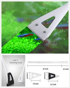 Aquarium Cleaning Tool Set Fish Tank Glass Maintenance Algae Cleaner Clean Brush