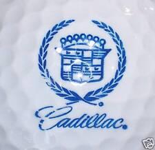(1) Cadillac Car Automobile Logo Golf Ball (blue text & large emblem)