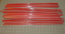 "19"" Silvered Beryllium-copper Finger Contact Strips (Lot of 10)"