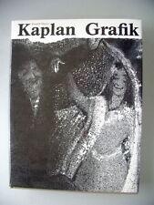 Kaplan Grafik 1937-1980 Lithografien Radierungen
