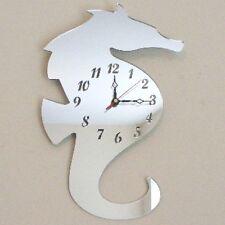 Seahorse Clock Acrylic Mirror (Several Sizes Available)