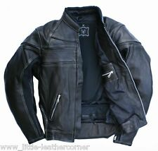 Skorpion Lederjacke Harley Motorradjacke Roadstar,Gr.58 kräftiges weiches Leder