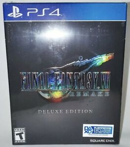 Final Fantasy 7 Remake Deluxe Edition Playstation 4 PS4 Sold Out (New)