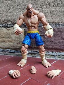 SOTA Toys - Player 1 Sagat Street Fighter 2 Rare