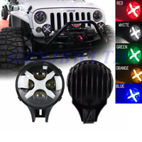 6 Inch 60w CREE LED Spot Fog Light X DRL Turn Signal For Off-Road 4x4 Jeep Truck