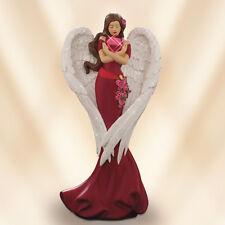 Heart of Grace - Heartfelt Promises Angel Figurine - Bradford Exchange