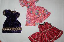 Lot Of Vintage Floral Dresses For Tammy & Bigger Fashion Dolls