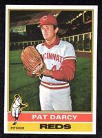 1976 Topps #538 Pat Darcy Cincinnati Reds Baseball Card EX/MT+