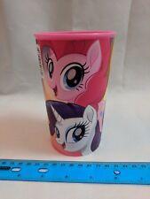 My Little Pony Plastic Drinking Cup Tumbler w/ Mane 6, Movie Design
