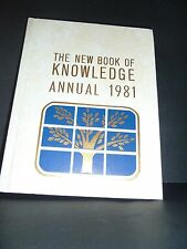 The New Book of Knowledge Annual 1981