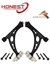 For VW TOURAN & JETTA 2 FRONT LOWER SUSPENSION WISHBONE ARMS COMPLETE + BOLTS