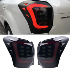 Fit Subaru Forester SJ XT LED Sequential Tail Lights Rear USDM Smoke 14-18