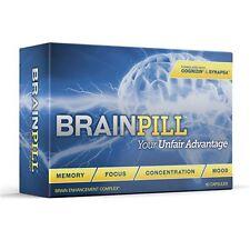 BRAIN PILL Focus Supplement Boost Memory Cognizin Synapse factor BrainPill