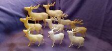 Antique Vintage Celluloid Christmas Deer
