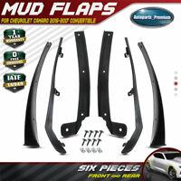 WJSWBX 4PCS Car Mud Flaps for MINI Coupe R58 Roadster R59 2010-2015 Front Rear Rubber Mudflaps Splash Guards Mudguards Fender Auto Accessories