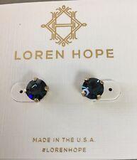 Loren Hope 'Kaylee' Stud Earrings in Montana (Dark Blue)