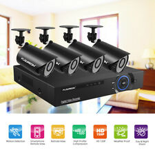 4Ch 1080N Ahd Dvr Outdoor Home Cctv Ir-Cut Video Recorder Security Camera System