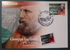 MAXI CARD - FDC - CENT. GARIBALDI - 2007