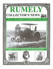 Rumely 6 tractor, Rumely Collectors News 2008, LaPorte Manufacturing Plant