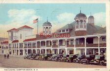 1928 THE CASINO, HAMPTON BEACH, N. H. vintage autos