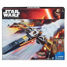 New Hasbro Star Wars The Force Awakens Poe's X-Wing Fighter Vehicle Sealed