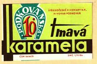 ETICHETTA PODKOVANSKA TMAVA KARAMELA 10% - N. 16