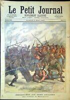 Le Petit Journal N°23- 2/05/1891 - Insurrection aux Indes, les premiers lauriers