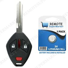 Replacement for 2006-2008 Mitsubishi Endeavor Remote Car Key Fob Thin Blade