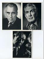 Imagine 1993 Masters of Horror And Hollywood Villains 3 Card Promo Set