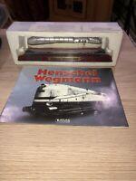 Atlas Editions, HENSCHEL WEGMANN 4-6-4 Steam Locomotive Static Model & LEAFLET