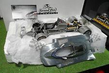 F1 FERRARI 312 T4 1979 Aluminium au 1/18 EXOTO 97079 voiture miniature formule 1