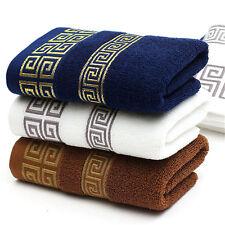 Éponge douce éponge de coton de luxe de bain de main de serviette plage rk