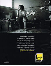 PUBLICITE ADVERTISING 094  2013  FRANCE INFO radio  L'IFO A VIF