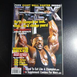 Flex Magazine December 2002 (292) Ernie Taylor Poster Inside Kary Odiatu