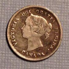 1888  Canada Victoria  FIve 5 Cents