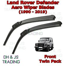 Pair of Front Windscreen Wiper Blades for Land Rover Defender 2.4 04//07-04//12