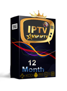 12 month IP.TV subscription (+30000-4K-M3U-SMAR'TV-ANDROID-MAG)