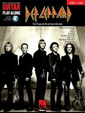 Def Leppard Sheet Music Guitar Play-Along Book and Audio NEW 000702532