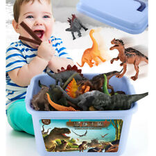 44/52x New Dinosaur Set Playset Animal Figures of Wild Dinosaur Animals Kids Toy