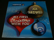 JOI CARDWELL MY FIRST CHRISTMAS WITH YOU LP VINYL RECORD SEALED OOP 1995 XMAS
