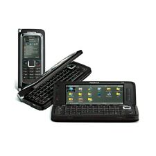 "CELLULARE NOKIA E90 SLIDE BLACK MOCHA COMMUNICATOR 4"" 3G WIFI TOP QUALITY."