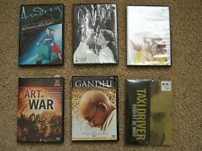 collection of 6 DVDs, Roman Holiday, Casablanca, Singin' in the Rain and more