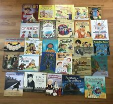 Lot 27 JEWISH Picture Books All About Passover Jeremy's Dreidel This is Challah